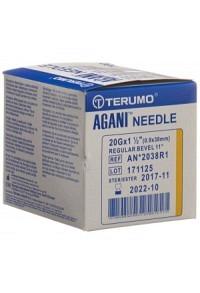 TERUMO Agani Einmalka 20G 0.9x38mm gelb 100 Stk