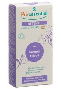 PURESSENTIEL Massageöl entspan Lavend Nero 100 ml