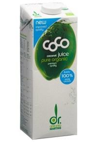 DR MARTINS Coco Drink pur Bio 1 lt