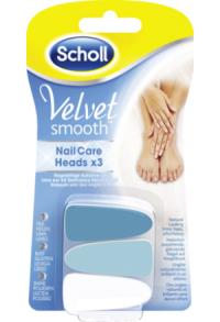 SCHOLL Velvet Smooth Nagelpflege Aufsätze 3 Stk