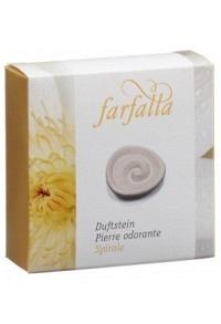 FARFALLA Duftstein Spirale Unterseite glasiert