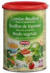MORGA Gemüse Bouillon Paste mit Speisewürze 1 kg