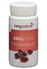 KINGNATURE Krill Vida Kaps 120 Stk