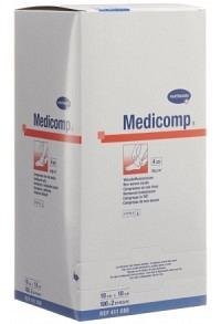 MEDICOMP Bl 4 fach S30 10x10 steril 100 x 2 Stk