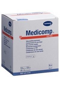 MEDICOMP Extra 6 fach S30 7.5x7.5cm 25 x 2 Stk