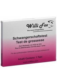 WILLI FOX Schwangerschaftstest Urin