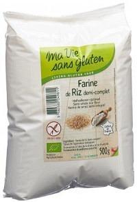 MA VIE S GLUT Mehl Reis Halbvollkorn 500 g