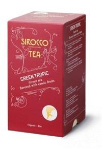 SIROCCO Teebeutel Green Tropic 20 Stk