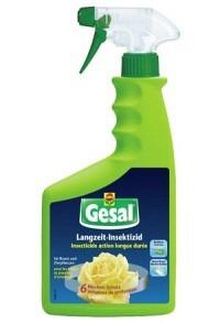 GESAL Langzeit-Insektizid Rosen/Zierpflanz 750 ml (Achtung! Versand nur INNERHALB der SCHWEIZ möglic
