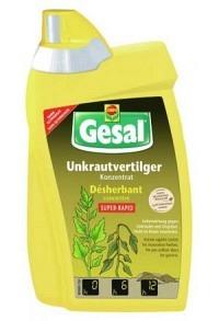 GESAL Unkrautvertilger SUPER-RAPID Konz 500 ml (Achtung! Versand nur INNERHALB der SCHWEIZ möglich!)