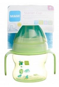 MAM Starter Cup Trinklernbecher mit Griff 4+m