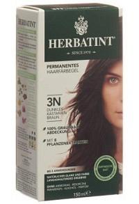 HERBATINT Haarfärbegel 3N Dunkles Kastanien 150 ml