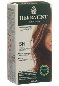 HERBATINT Haarfärbegel 5N He Kastanienbraun 150 ml