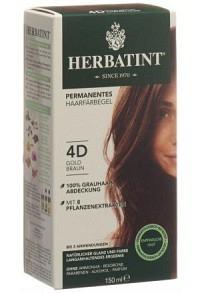 HERBATINT Haarfärbegel 4D Gold-Kastanien 150 ml