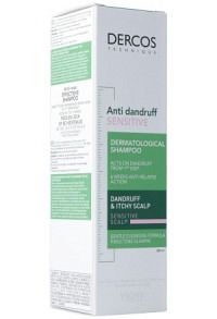 VICHY Dercos Shampoo Anti-Pell chev sens FR 200 ml