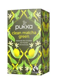 PUKKA Clean Matcha Green Tee Bio Btl 20 Stk