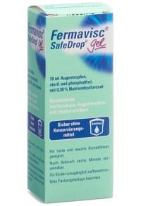 FERMAVISC SafeDrop Gel Gtt Opht 0.3 % Fl 10 ml
