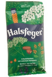 HALSFEGER Kräuterbonbon Btl 90 g