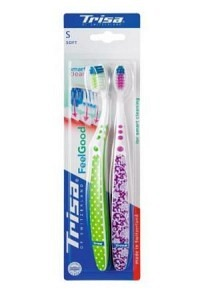TRISA Feelgood Smart Clean Zahnbürste Duo soft