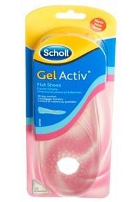 SCHOLL GelActiv Sohle 35-40.5 flac Schu Sie 1 Paar