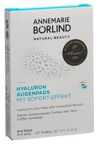 BÖRLIND Hyal Augenp Sofort Effekt 6 Stk