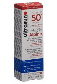 ULTRASUN Alpine SPF 50+ 20 ml + 3 g