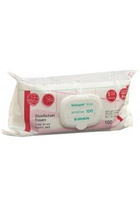 MELISEPTOL Wipes sensitive 100 (Flowpack)