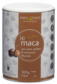 AMAZONAS maca Bio Pulver 100 % pur Ds 500 g