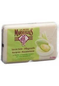 LE PETIT MARSEILLAIS Seife Süssmandel 2 x 100 g
