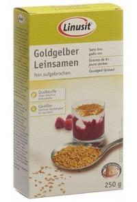 LINUSIT Goldgelber Leinsamen 250 g