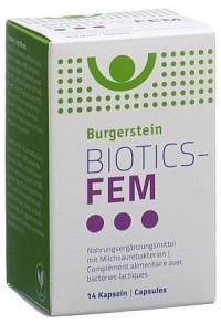 BURGERSTEIN BIOTICS-FEM Kaps 14 Stk