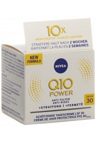 NIVEA Q10 Power Anti-Falt Schü Tagescr LSF30 50 ml