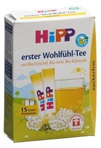 HIPP Baby Wohlfühl-Tee (neu) 15 Stick 0.36 g