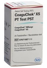 COAGUCHEK XS PT PST de/it/nl/fr 24 Stk