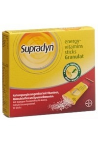 SUPRADYN energy-eisen sticks Gran 20 Stk