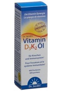 DR. JACOB'S Vitamin D3K2 Öl 20 ml