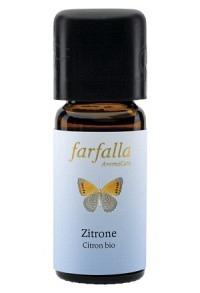 FARFALLA Zitronen Äth/Öl Bio Fl 10 ml