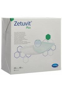 ZETUVIT Plus Absorptionsverband 20x40cm 10 Stk