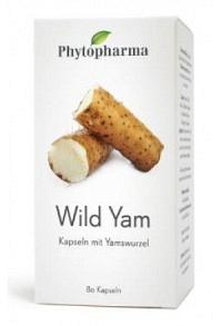 PHYTOPHARMA Wild Yam Kaps 400 mg 80 Stk