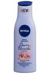 NIVEA Sensual Body Lotion Cherry&Jojoba Oil 200 ml