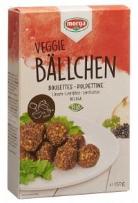 MORGA Linsenbällchen glutenfrei Bio 150 g