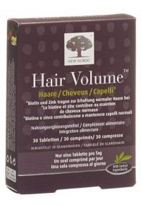 NEW NORDIC Hair Volume Tabl 30 Stk