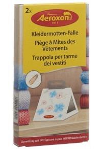 AEROXON Kleidermotten-Fallen 2 Stk (Achtung! Versand nur INNERHALB der SCHWEIZ möglich!)