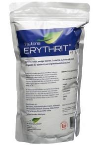TAUTONA Erythrit Verschlussbeutel 1 kg