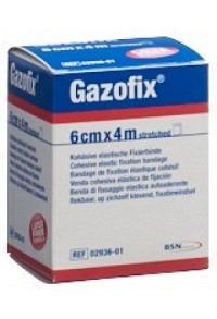 GAZOFIX kohä Fixierbinde 6cmx4m hautf latexfrei