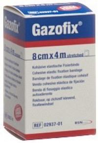 GAZOFIX kohä Fixierbinde 8cmx4m hautf latexfrei