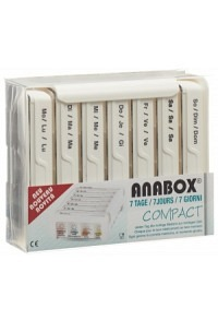 ANABOX Compact 7 Tage D/F/I weiss