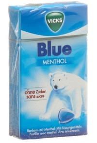 VICKS Blue ohne Zucker Box 40 g