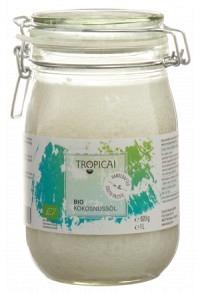 TROPICAI Virgin Coconut Oil Bio Glas 1000 ml