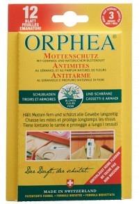 ORPHEA Mottenschutz Blätter Blütenduft 12 Stk (Achtung! Versand nur INNERHALB der SCHWEIZ möglich!)